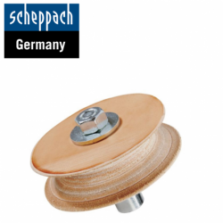 Leather Honing Wheel 100 Accessory for TIGER 2000s / 2500 / Scheppach 89490705 /