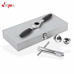 Thread cutting tool set - taps and dies, 5 pieces. / DEMA 20471 / 1
