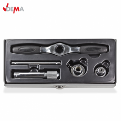 Thread cutting tool set - taps and dies, 5 pieces. / DEMA 20471 / 5