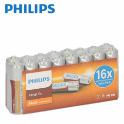 Baterii  Philips  R6 AA, 16...