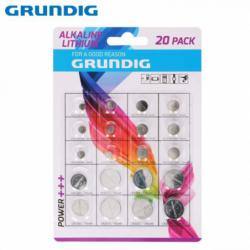 Set baterii GRUNDIG, 20 bucăți
