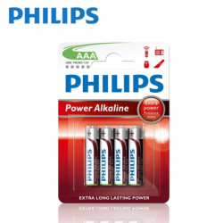 Batteries Philips Alkaline...