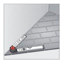 Нивелир алуминиев с протрактор, 60/120cm / BMI 715060120 / 1