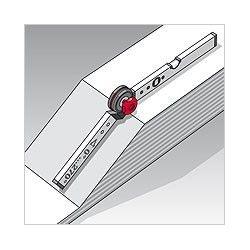 Нивелир алуминиев с протрактор, 60/120cm / BMI 715060120 / 8
