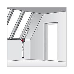 Нивелир алуминиев с протрактор, 60/120cm / BMI 715060120 / 9