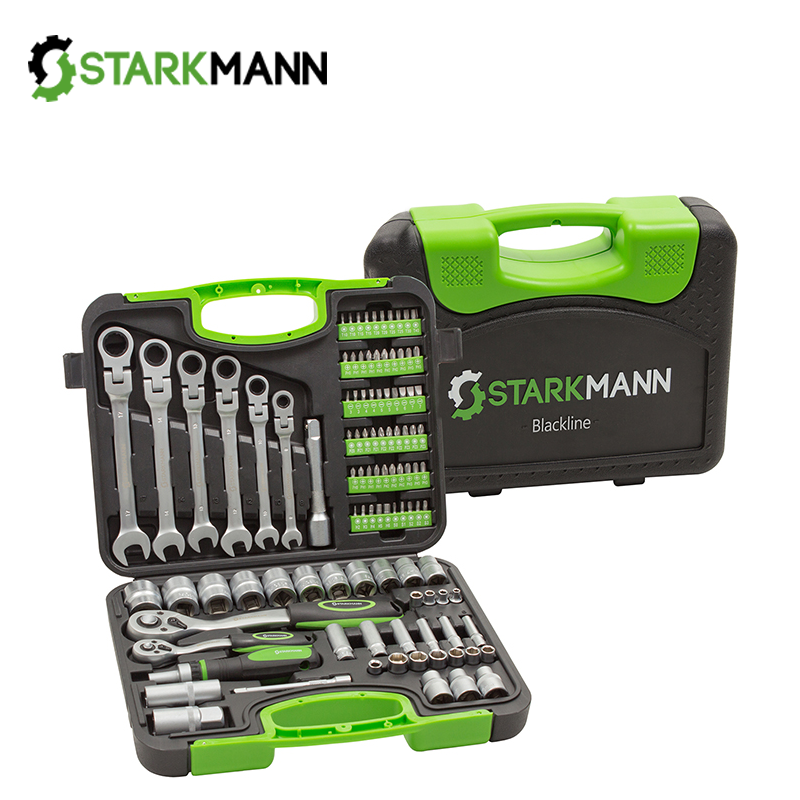 Tool set in case 104 pieces / STARKMANN BL-104TS /