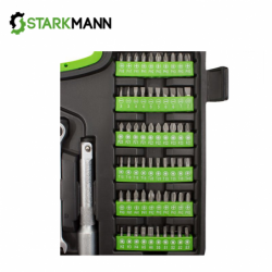 Tool set in case 104 pieces / STARKMANN BL-104TS / 4
