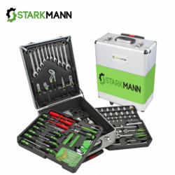 Комплект инструменти в куфарче 150 инструмента + консумативи = 399 части / STARKMANN SN-399TGL /
