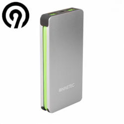 Power Bank NINETEC NT-609, 9.000mAh with cable for iPhone