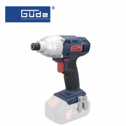 "Cordless impact screwdriver BSS 18 ¼""-0 / GÜDE 58505 / 18V, 180 Nm"