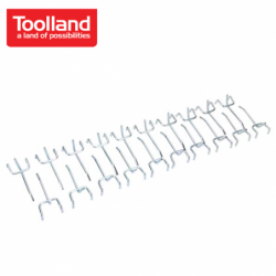 Куки за работна маса / Toolland MP80 / 20 бр. в пакет