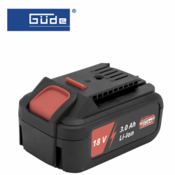Battery Li-Ion AP 18-30 / GÜDE 58543 / 3.0Ah, 18 V
