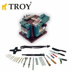 Universal sharpener with flexible shaft / Troy 17059 / 65W