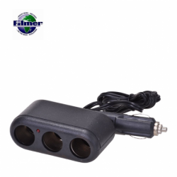 Car Adapter 3 Way Socket...