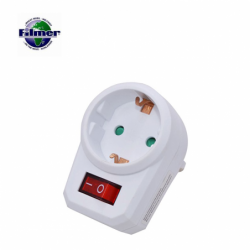 Plug-In Socket with Switch / FILMER 20872 /