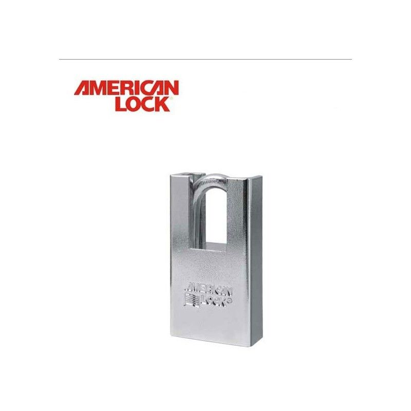Shrouded Padlocks / AMERICAN LOCK A5300 / With a shrouded shackle for extra security.