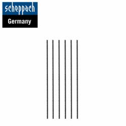 Триончета за контурен трион 18 ТPI, 6бр. / Scheppach 88000012 /