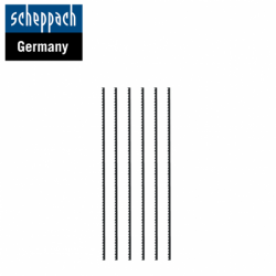 Scrollsaw Blade Pinned 25 ТPI, 6pcs. / Scheppach 88000011 /