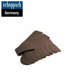 Комплект шкурки за лентов / дисков шлайф BTS800 / Scheppach 7903302601 / 12 части