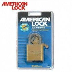 Solid Brass Padlocks / American Lock 20CC /