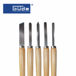 Carving tool set 5 pieces / GUDE 55101 /