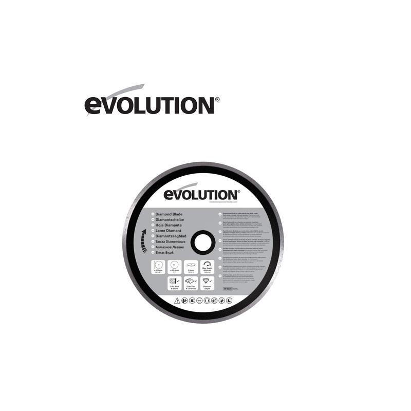 Evolution RAGE 210 mm Диамантен диск / EVOLUTION RAGEBLADE210DIAMOND /