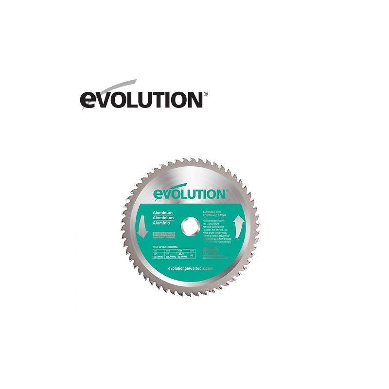 Диск за рязане на алуминий, 230 mm / EVOLUTION EVOBLADE230AL /