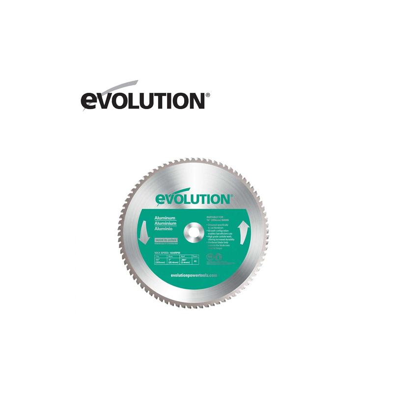 Диск за рязане на алуминий, 355 mm 80 T / EVOLUTION 80TBLADE14 /