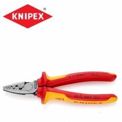 Кримперни клещи 180 мм  / KNIPEX 9778180 / за втулки