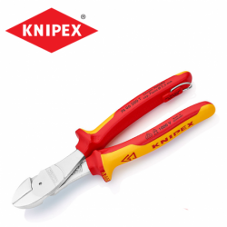 Heavy Leverage Diagonal Cutter 200 mm / Knipex 7406200 T /
