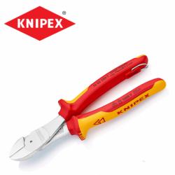 Усилени клещи странични резачки 200 мм / Knipex 7406200 T /