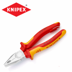 Combination Pliers 180 mm / KNIPEX 0306180 T / with tether attachment point