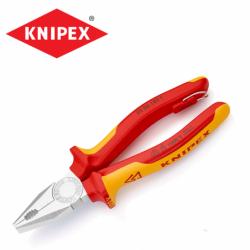 Комбинирани клещи 180 мм / KNIPEX 0306180 T / с тока на закрепване