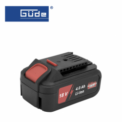 Battery Li-Ion AP 18-40 / GÜDE 58544 / 4.0Ah, 18 V