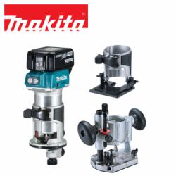 Mobile Brushless Laminate Trimmer Kit 18V / Makita  DRT50RTJX2 /