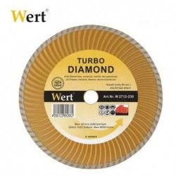 """TURBO"" Диамантен диск за гранит, мрамор, керамика и камък / Wert 2712-115 / 1"