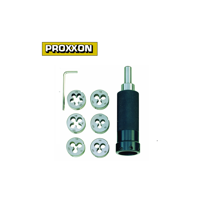 Proxxon 24082 Die holder for round dies threads M 3 to M 10