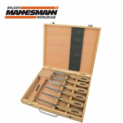Комплект инструменти за дърворезба, 7 броя / Mannesmann 66107 /