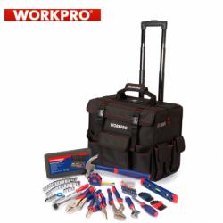 Комплект инструменти в чанта на колелца, 86 части  / Workpro W009029 /