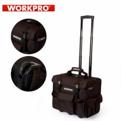 Комплект инструменти в чанта на колелца, 86 части + 90бр винтове / Workpro W009029 / 3