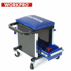 Сервизен стол - количка с инструменти 136 части / Workpro W009039 /