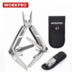 Многофункционален джобен инструмент 16 в 1  / Workpro W014070 /
