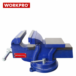 Bench Vice Swivel with Anvil 75 mm  / Workpro W033005 /