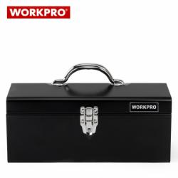 Метален куфар с инструменти за техници 160 части / Workpro W009027 / 4