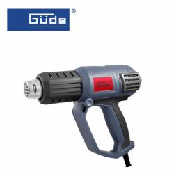 Hot air gun HLG 600-2000, 2000W / GÜDE 58190 /