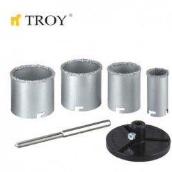 Комплект боркорони 6 части Troy 27406.