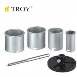 Tungsten Carbide Holesaw Set 6 Pieces