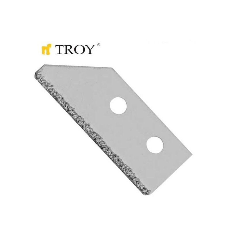 Tile Grout Remover Spare Blade Set TROY - 1