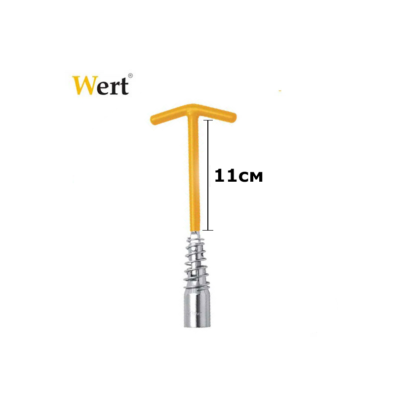 Combination Spark Plug Wrench (16+20,8 mm) WERT - 3