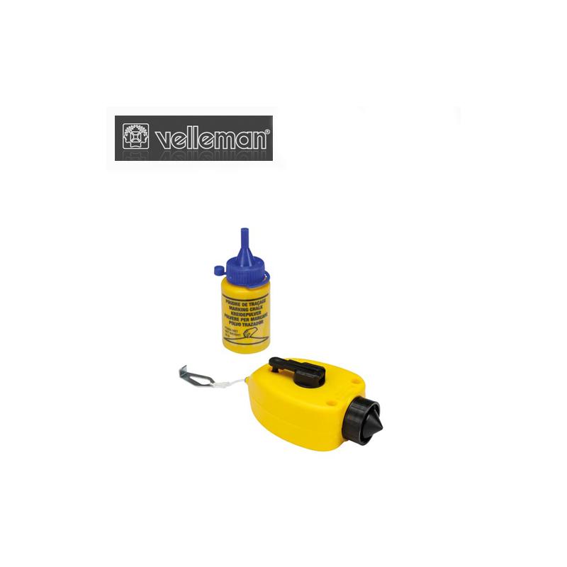 Маркиращ шнур и 28гр. маркираща смес / Velleman DF150 /